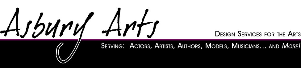 Design services for actors, authors, musicians, filmmakers, models, and more!