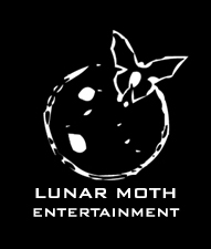 LUnar Moth Entertainment Logo designed by Asbury Arts